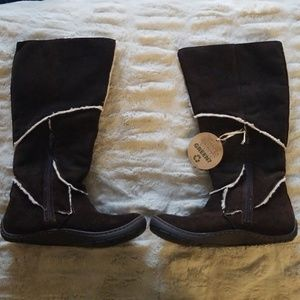Earth Faux Fur Lined Boots Size 8